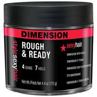 Sexy Hair Style  Rough & Ready Dimension With Hold 125g