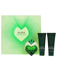 MUGLER Aura Eau de Parfum Spray 30ml, Body Lotion 50ml and Shower Gel 50ml