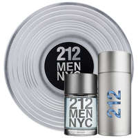Carolina Herrera 212 Men NYC Eau de Toilette Spray 100ml, Aftershave Lotion 100ml
