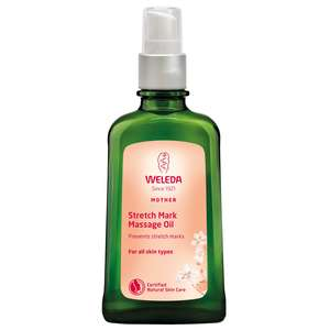 Weleda Body Stretch Mark Massage Oil 100ml