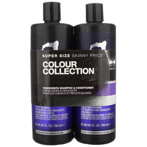 TIGI Catwalk Fashionista Fashionista Blonde Tween Set - Shampoo 750ml & Conditioner 750ml