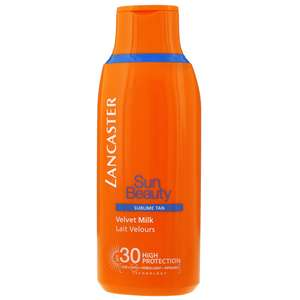 Lancaster Sun Beauty SPF30 Velvet Milk Sublime Tan 175ml