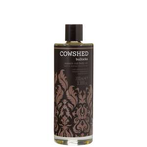 Cowshed Men Bullocks Muscle Rub Massage Oil 100ml
