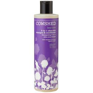 Cowshed Haircare Lazy Cow 2 in 1 Rich Shampoo and Conditioner 300ml