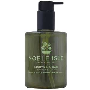 Noble Isle Bath & Shower Gel Lightning Oak Hair & Body Wash 250ml