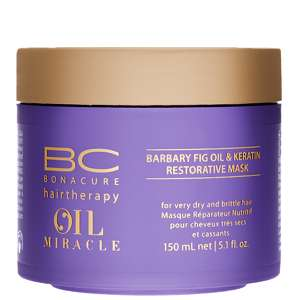 Schwarzkopf BC Bonacure Barbary Fig Oil and Keratin Restorative Mask 150ml