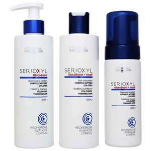 L'Oréal Professionnel Serioxyl Fuller Hair Kit 2 for Coloured, Thinning Hair