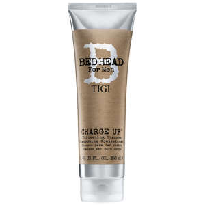 TIGI Bed Head For Men Wash and Care Charge Up Thickening Shampoo 250ml