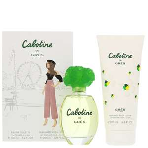Gres Cabotine Eau de Toilette Spray 100ml & Body Lotion 200ml