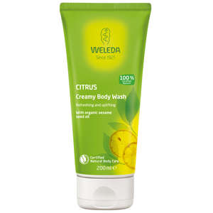 Weleda Body Citrus Creamy Body Wash 200ml