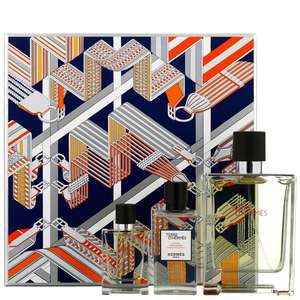 Hermes Terre D'Hermes Eau de Toilette Natural Spray 100ml, Aftershave Lotion 40ml & Eau de Toilette Natural Spray 12.5ml