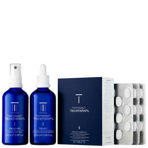 Philip Kingsley Treatments Trichotherapy Regime 3-Piece Kit for Fine/Thinning Hair