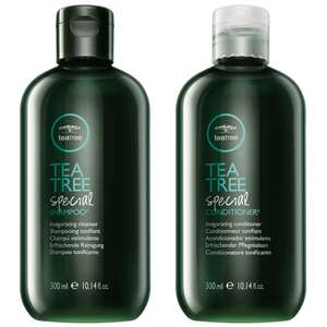 Paul Mitchell Bonus Bags  Tea Tree Special Shampoo 300ml & Conditioner 300ml