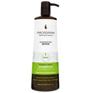 Macadamia Professional Care & Treatment Weightless Moisture Shampoo for Fine and Baby Fine Hair 1000ml