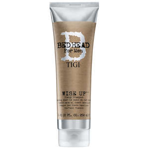 TIGI Bed Head For Men Wash and Care Wise Up Shampoo 250ml