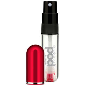 Perfume Pod Travel Atomiser Red