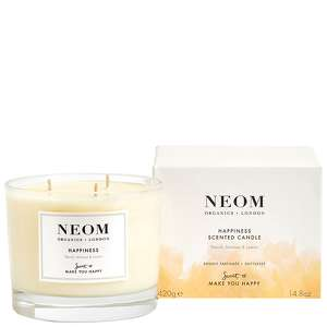 Neom Organics Scent To Make You Happy Scented Candle (3 Wicks): Happiness 420g