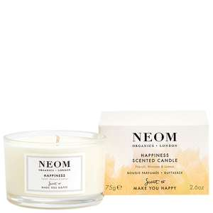 Neom Organics Scent To Make You Happy Scented Candle (Travel): Happiness 75g