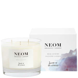Neom Organics Scent To De-Stress Real Luxury 3 Wicks Candle 420g