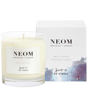 Neom Organics Scent To De-Stress Real Luxury 1 Wick Candle 185g
