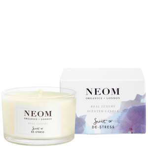 Neom Organics Scent To De-Stress Real Luxury Travel Candle 75g