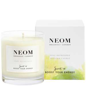 Neom Organics Scent To Boost Your Energy Feel Refreshed 1 Wick Scented Candle 185g