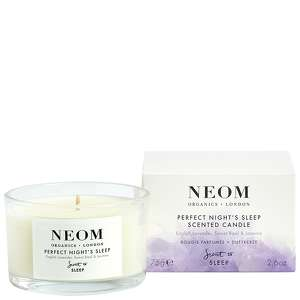 Neom Organics London Scent To Sleep Tranquillity Travel Scented Candle 75g