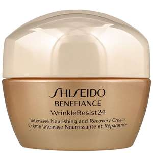 Shiseido Benefiance WrinkleResist24 Intensive Nourishing And Recovery Cream 50ml