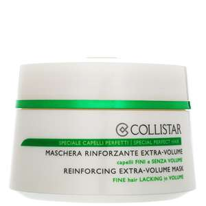 Collistar Hair Care Reinforcing Extra Volume Mask 200ml