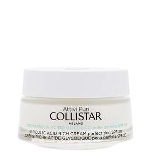 Collistar Moisturisers Glycolic Acid Rich Cream 50ml