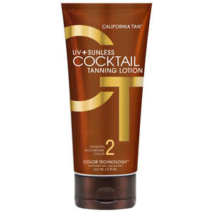 California Tan Sunless Cocktail Tanning Lotion 177ml