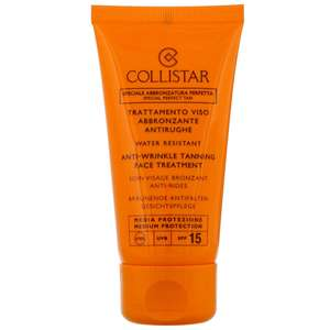 Collistar Self Tan Anti-Wrinkle Tanning Face Treatment SPF15 50ml