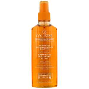 Collistar Self Tan Supertanning Dry Oil SPF15 200ml