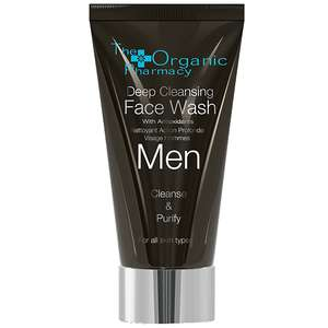 The Organic Pharmacy Men Deep Cleansing Face Wash 75ml