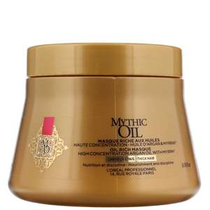 L'Oréal Professionnel Mythic Oil Oil Rich Masque for Thick Hair 200ml