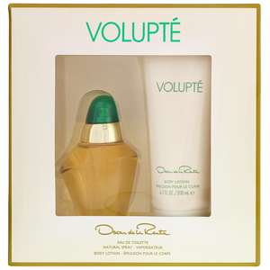 Oscar de la Renta Volupte Eau de Toilette Spray 100ml & Body Lotion 200ml