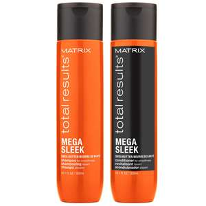 Matrix Total Results Mega Sleek Shampoo 300ml & Conditioner 300ml