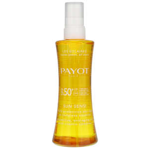 Payot Paris Sun Sensi Huile Protectrice Corps Anti-Âge: Protective Anti-Aging Body Oil  SPF50+ 125ml