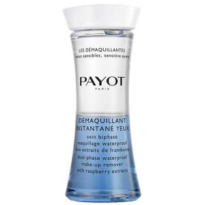 Payot Paris Les Démaquillantes Instantane Yeux: Dual-Phase Waterproof makeup Remover 125ml