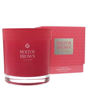 Molton Brown Pink Pepperpod Three Wick Candle 480g