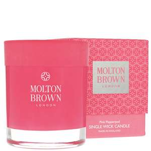 Molton Brown Pink Pepperpod Single Wick Candle 180g
