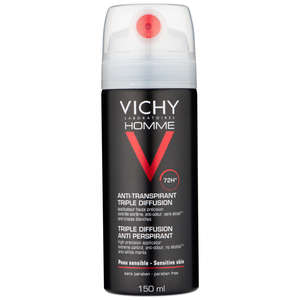 VICHY Laboratories Homme Triple Diffusion Anti-Perspirant 150ml