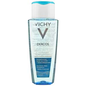 VICHY Laboratories Dercos Ultra Soothing Shampoo for Normal to Oily Hair 200ml