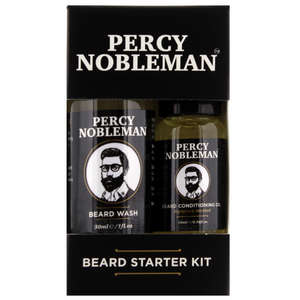 percy nobleman beard beard starter kit gifts sets. Black Bedroom Furniture Sets. Home Design Ideas