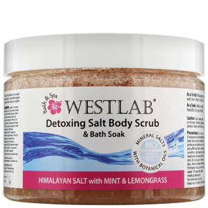 Westlab Scrubs & Soaks Detox Himalayan Salt Body Scrub and Bath Soak 500g