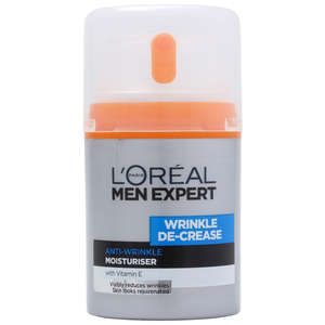 L'Oréal Paris Men Expert Wrinkle Decrease Anti-Expression Wrinkles Moisturising Cream 50ml