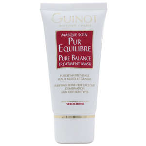 Guinot Facial Purifying Masque Soin Pur Equilibre Pure Balance Treatment Mask (Combination/Oily) 50ml