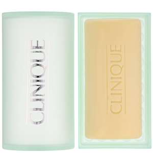 Clinique Cleansers & Makeup Removers Step 1 (Cleanse) Facial Soap Mild with Dish for Dry Combination Skin 100g