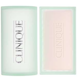 Clinique Cleansers & Makeup Removers Step 1 (Cleanse) Facial Soap Extra Mild with Soap Dish for Very Dry to Dry Skin 100g