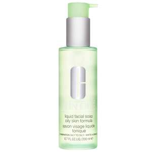 Clinique Cleansers & Makeup Removers Step 1 (Cleanse) - Liquid Facial Soap For Oily/Combination Skin 200ml